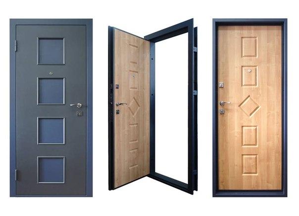 легкая металлическая дверь на заказ