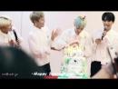 FANCAM   28.07.18   A.C.E (Happy Birthday Byeongkwan) @ Fansign in Beijing