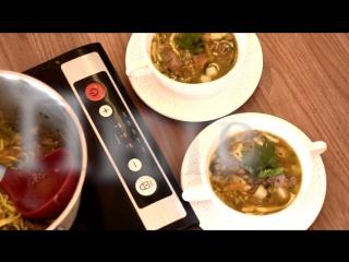 узбекский суп с домашней лапшой от НМП