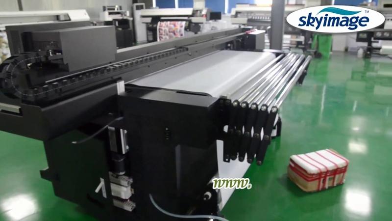 Широкоформатный Oric Uv Roll для рулонного УФ планшетного принтера Образец тестирования