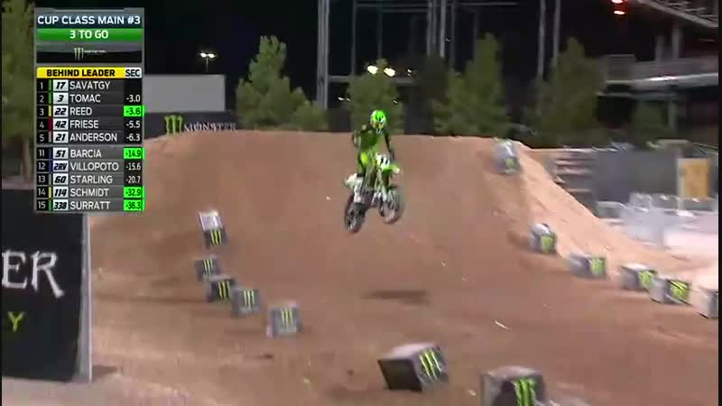 2018 Supercross Monster Energy Cup Main Event 3
