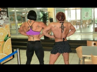 FBB  muscle women  Female Bodybuilding Бодибилдерши
