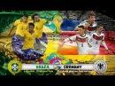 БРАЗИЛиЯ ГЕРМАНиЯ Футбол СМОТРЕТЬ ОНЛАЙН ПОЛУФИНАЛ ЧМ 2014 ВИДЕО ГОЛЫ Обзор Brasil vs Germany