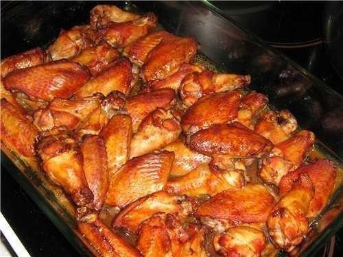 Как приготовить крылышки куриные с