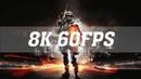 Battlefield 3 8K PC MAX SETTINGS [8K 60FPS]   TITAN RTX SLI   BF3 8K   ThirtyIR