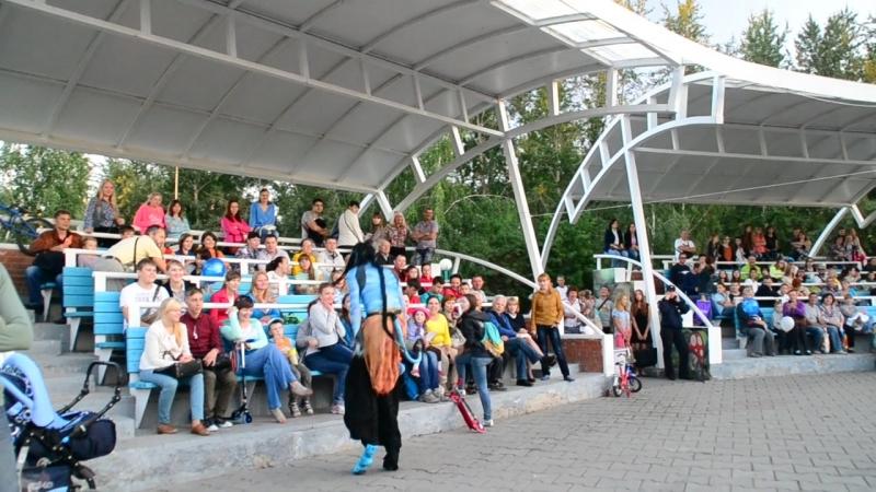 22 08 2014г День Кино в г Кемерово Парк Победы хроника прошлых дней