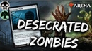 Desecrated Zombies [MTG Arena] | Zombie Tribal Desecrated Tomb Deck in GRN Standard
