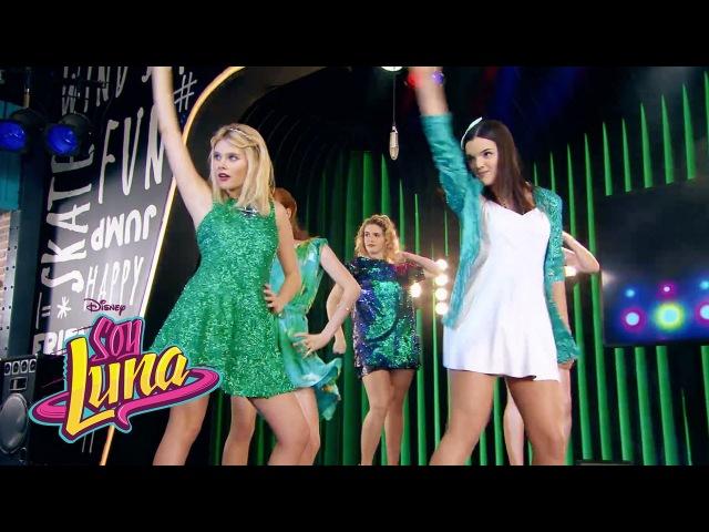 Ámbar y las chicas cantan Mírame a mí | Momento Musical (con letra) | Soy Luna