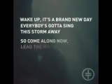 Every morning is a brand new day -