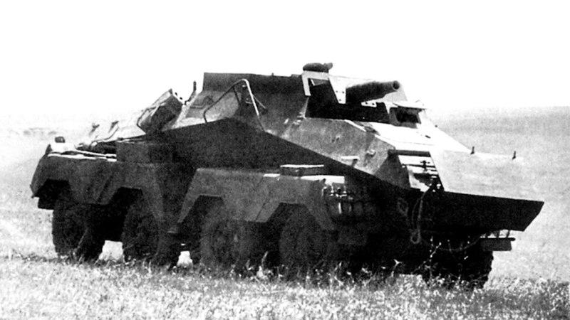 Bussing NAG GS Sd Kfz 233 07 1942 10 1943