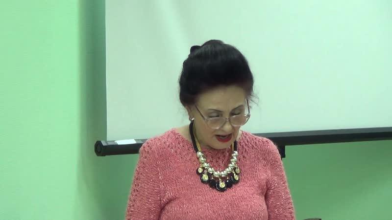 ТВОРЧЕСКИЙ ВЕЧЕР Галины Самоленковой часть 1 в БУРЕВЕСТНИКЕ