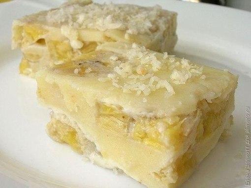 Самые вкусные рецепты: Пирожное
