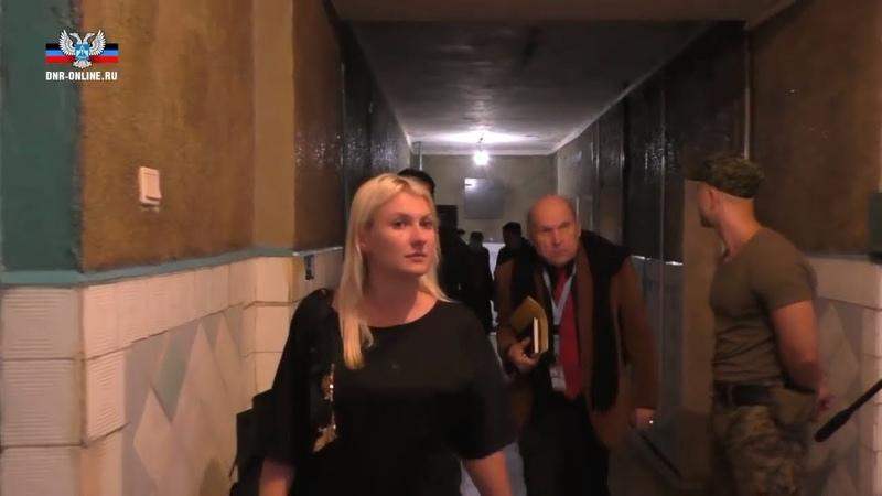 Тони Фриш ознакомился с условиями содержания украинских военнопленных в ДНР