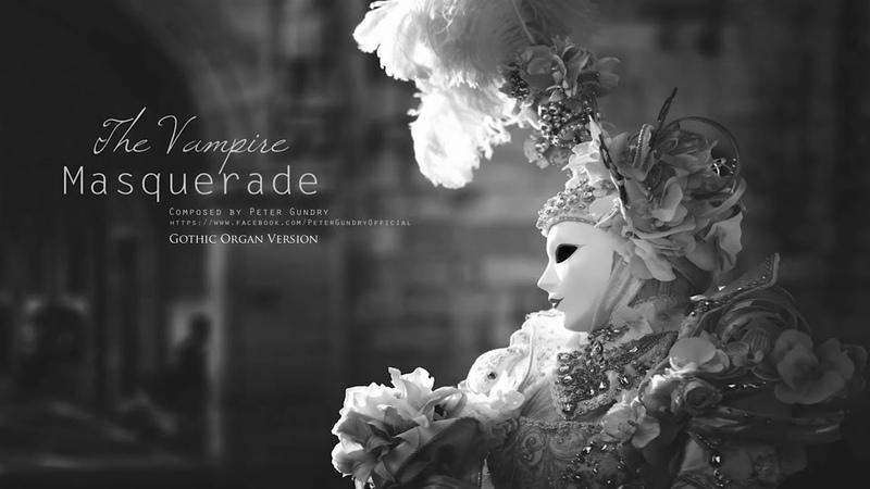 Dark Waltz Music - The Vampire Masquerade | Gothic Organ Version