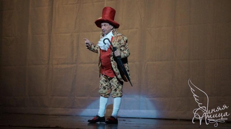 Спектакль «Все мыши любят сыр» в постановке театра «Синяя птица»