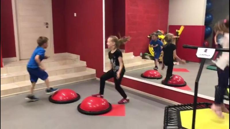 Детские занятия в OHANA Fitness SPA