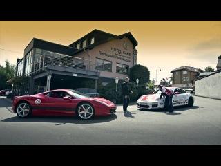 Porsche GT3RS Sabine Schmitz & Ferrari 458 Italia Ron Simons - Nurburgring