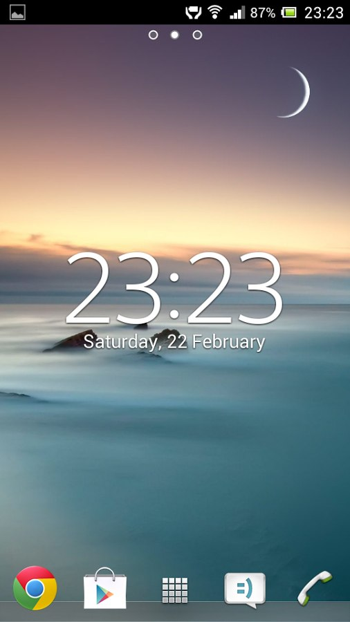 Digital Clock Widget - виджет часов на Android