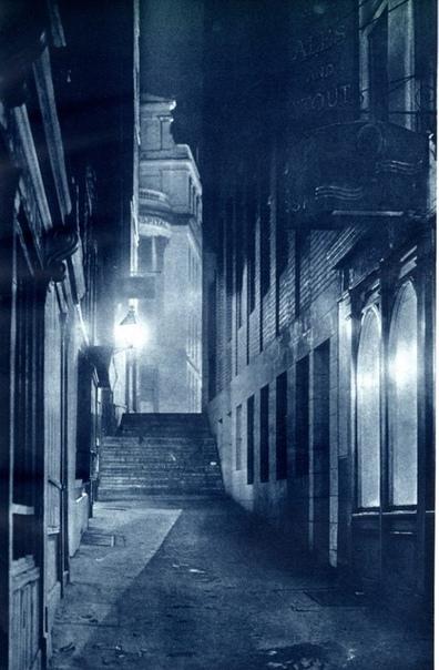 Серия фото «Ночной Лондон», 1930-е.