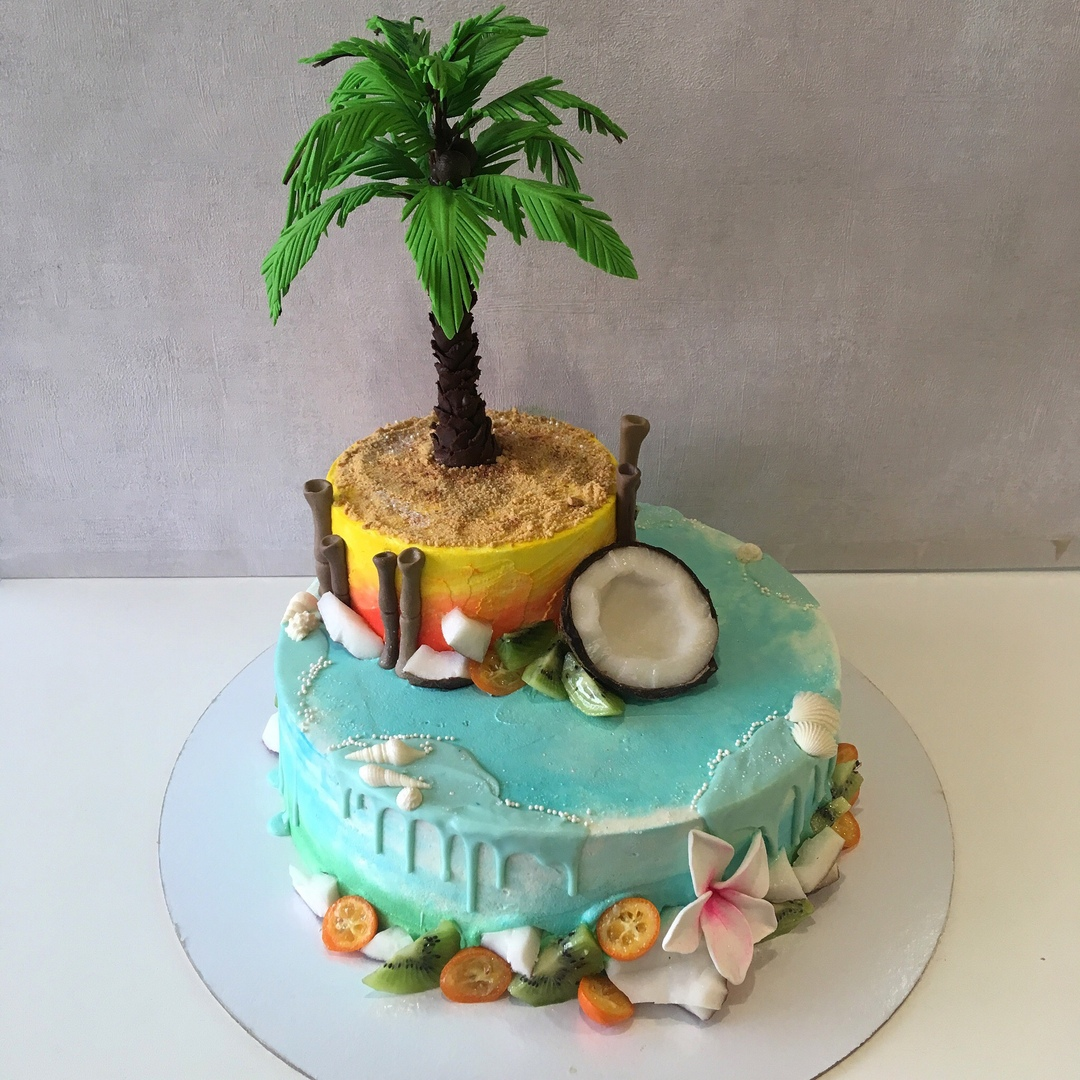 Тропический торт (Арт. 274)
