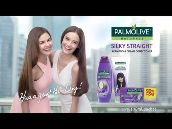 Join Janine Gutierrez Kelsey Merritt FightTheFrizzies with Palmolive Silky Straight