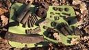 Верховой поиск среди немецких блиндажей Search among the German bunkers