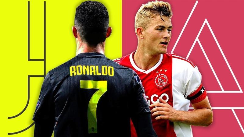 Juventus vs Ajax PROMO 2019 ⚪️⚫️ ⚪️🔴