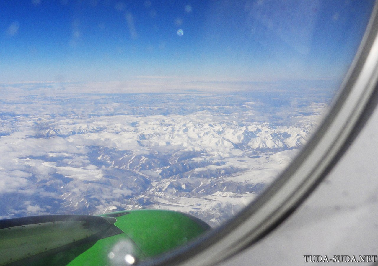 Фото из самолета крыло