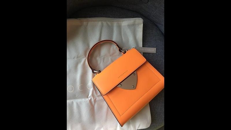 Обзор сумочки bag Coccinelle B14 mini