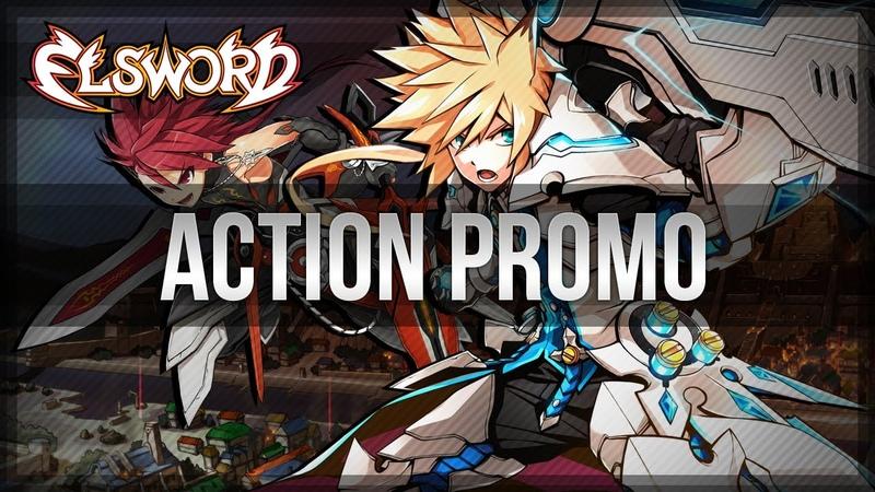 [Elsword Official] Action Promo Trailer I MMORPG