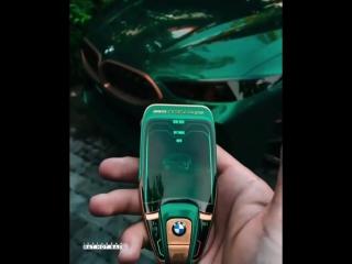 Bmw m8 gran coupe concept key