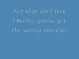 REO Speedwagon - That Aint Love (with video lyrics)