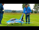 AMAZING RC VIPERJET SCALE MODEL TURBINE JET FLIGHT DEMONSTRATION TO MUSIC
