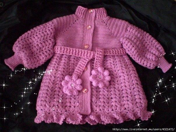 Пальто для малышки (7 фото) - картинка