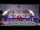 World Record Bench Press with 151.5 kg by Bonica Brown USA in 84+ kg class
