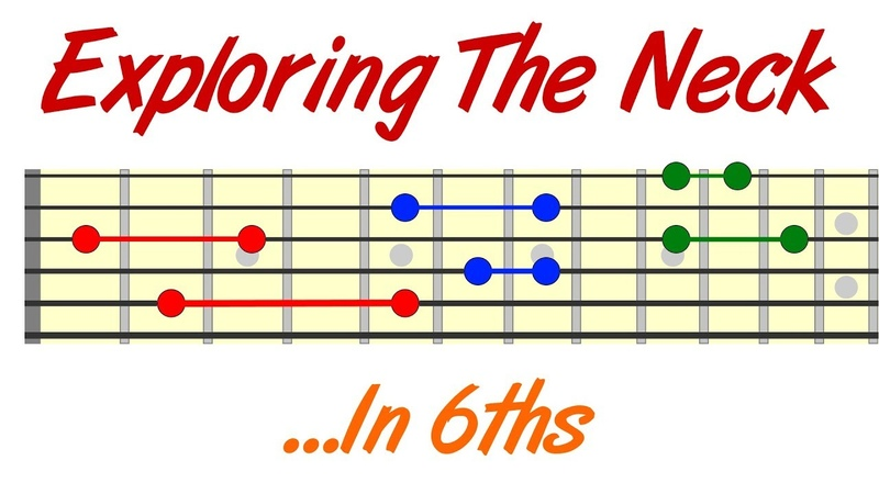 Exploring The Guitar Neck In 6ths - Simple Beautiful