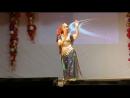 Индийский танец Натальи Лукьян на концерте, посвященном Международному Дню инвалидов