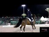 DH EXCLUSIVE Laura Graves And Verdades Grand Prix Freestyle Warm Up