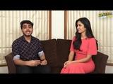 Katrina kaif interviewed by a journalist for Da - Bangg tour