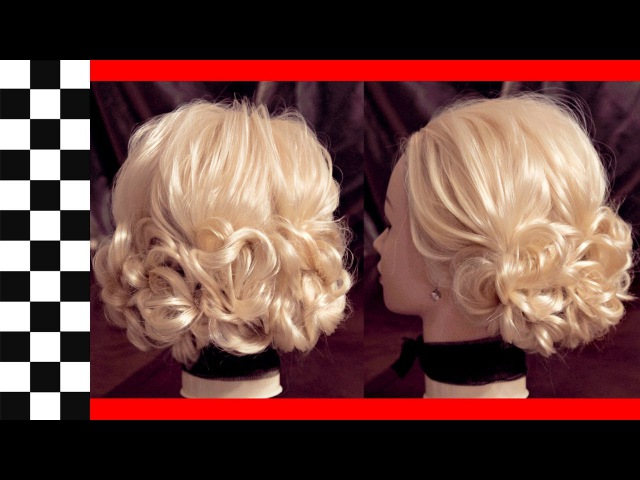 Причёска на 3 хвостах | Авторские причёски | Лена Роговая | Hairstyles by REM | Copyright ©
