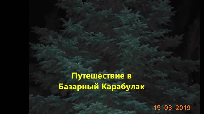 Путешествие в Базарный Карабулак