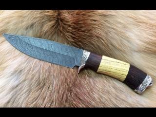 ООО «Эльбрус», нож «Пума», дамаск