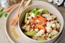 Необычный салат из жареных овощей