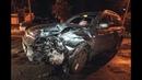 В Киеве на Нивках пьяный мужчина на Subaru влетел в такси Uber с двумя пассажирами
