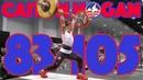 Caitlin Hogan Heavy Training 83kg Snatch 105kg Clean and Jerk 125kg FS 2017 WWC 4k 60