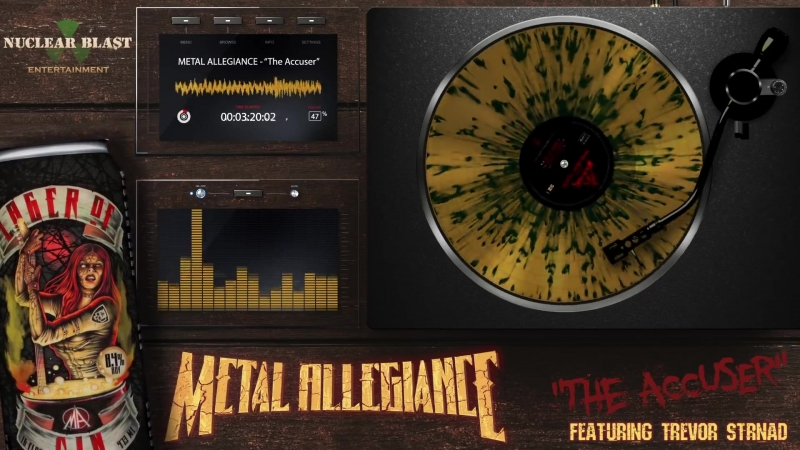 METAL ALLEGIANCE The Accuser feat Trevor Strnad 2018 смотреть онлайн без регистрации