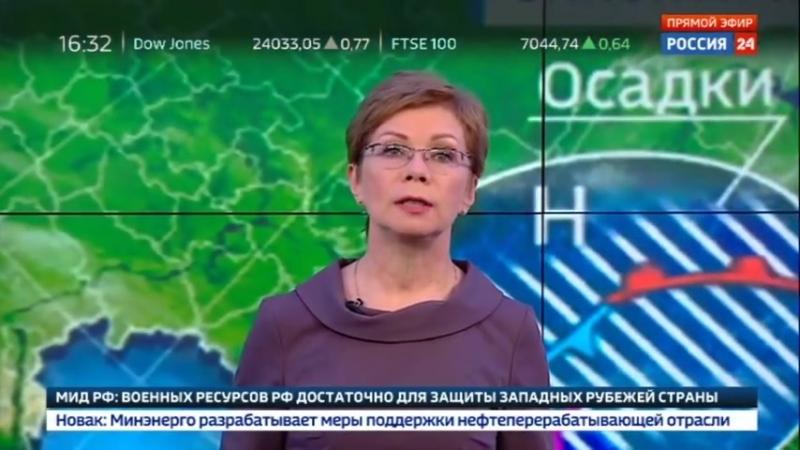 """""""Погода 24"""" на юге России начались потопы из-за таяния снега - Россия 24"""