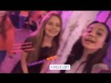 Алиса Кожикина и Луиза-Габриэла Бровина на Instagram Party (6.04.18)