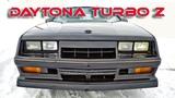 Американские МАСЛКАРЫ - Dodge Daytona Turbo Z (Chrysler Laser) - Легенды 80 х