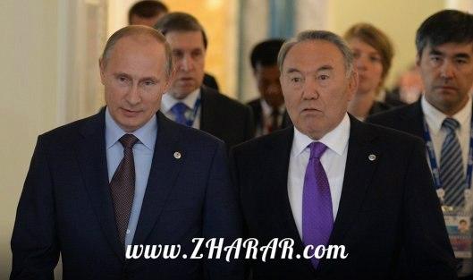 Путин және Назарбаев жаңа келісімшартқа қол қояды